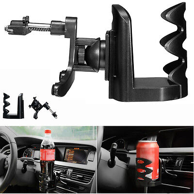 IN Car Van Drink Cup Holder Stan Universal Air Vent Mount Beverage Bottle Can UK