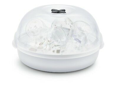 Micro Express Plus Microwave Steam Steriliser Perfect for daily and travelling