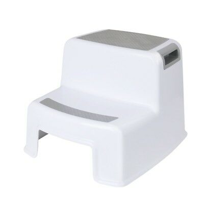 Cusfull Dual Height Two Step Stool For Kids, Toddler's Stool for Potty Training