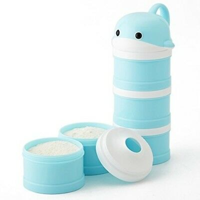 Milk Powder Dispenser Formula No Mix Spill BPA Free Twist-Lock Stackable Snack