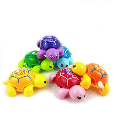 Tortoise For Babys Kids Educational Toys Small Turtles Crawling Wind Up Toy