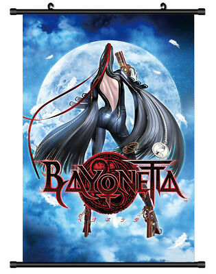"""Hot Japan Anime Game Bayonetta Bloody Fate Home Decor Poster Wall Scroll 8/""""x12/"""""""