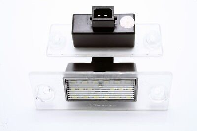 2x LED LICENSE NUMBER PLATE LIGHT AUDI A3 8L PRE-FACELIFT CANBUS