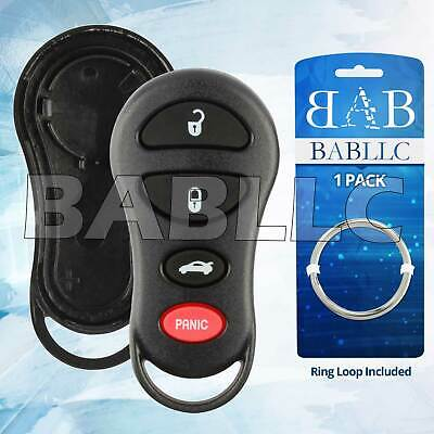 2 FOR CHRYSLER Jeep Dodge Ram Keyless Remote Car Entry Key Fob Shell