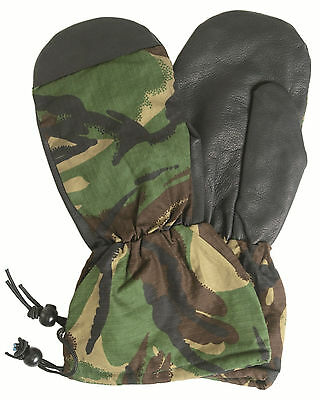 NEW Unused BRITISH Army DPM Camo Goretex Cold Weather Winter Lined Mitt Mittens