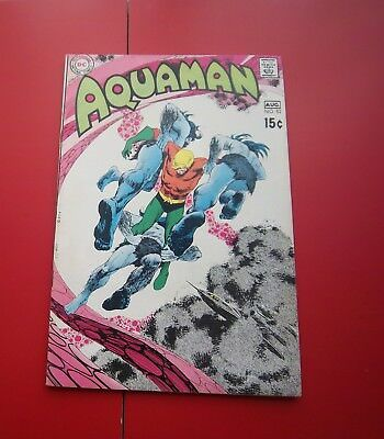 Aquaman #52 The Traders Trap!  W/ Deadman Back-Up Story Bronze Age - 1970