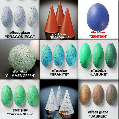 #UK Mat Effect Ceramic Glazes Earthenware Pottery Cone 06-04 Lead-free Clay
