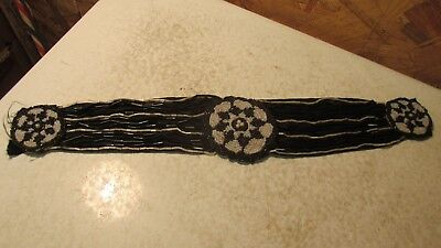 Antique Beaded Collar Clothing Decoration
