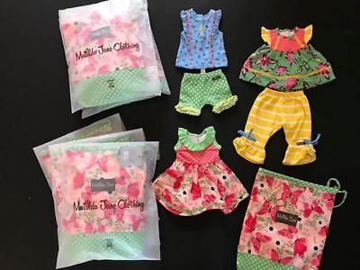 "Matilda Jane On Tour Doll clothes Set NEW for 18"" Dolls!"