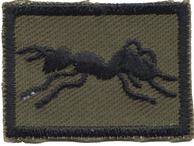 51 Field Squadron (Airfields) Royal Engineers TRF Tiny Embroidered Patch