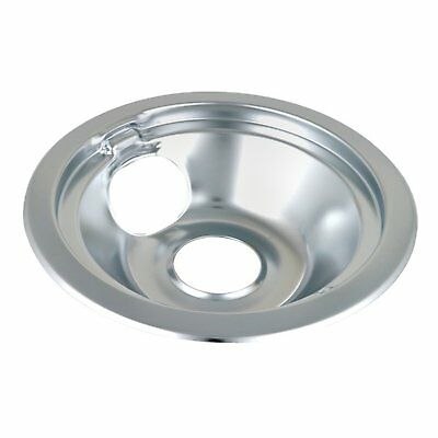 "WB32X5076 - 8"" Chrome Drip Bowl Tray for General Electric Range"