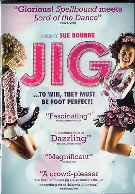 JIG (DVD, 2011) 40th Irish Dancing World Championships NEW