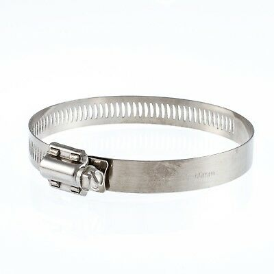 Jubilee Type Stainless Steel Hose Clips. Very Large Sizes Up To 360mm Diameter.