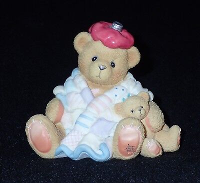 Enesco Cherished Teddies 1997 Get Well Figurine #215856 NEW IN BOX