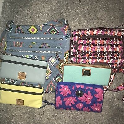 Vera Bradley/Dooney & Bourke Bag/wallet Lot