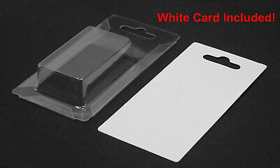 """25 PCS New Clear Plastic Clamshell Packaging Blister 4"""" x 2"""" Retail Display (S)"""