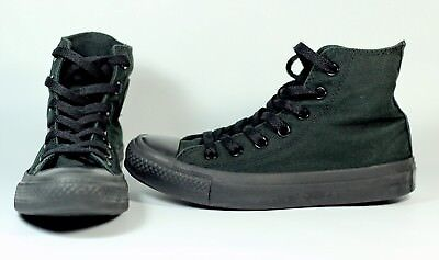 0eac036b643e53 Converse Chuck Taylor All Star Hi Top Canvas Women Shoes Sz 5.5 M3310 Black  Mono