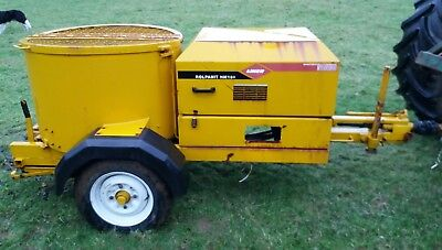Liner Rolapanit hm100 lime roller pan mixer trailed hydraulic cement