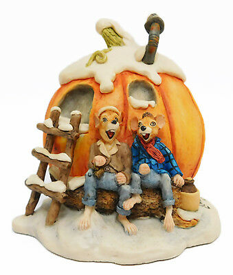 Lowell Davis Figurine 1989 PUNKIN' WINE Schmid 225-501 Little Critters Pumpkin