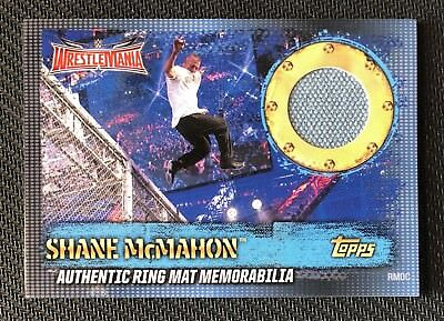 Topps Slam Attax 10th Edition - Ring Mat Memorabilia SHANE McMAHON / RMDC