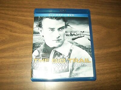 The Big Trail Bluray & Dvd John Wayne 2 Disc Set