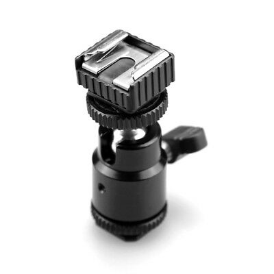 """SmallRig Hot Shoe with 1/4"""" Male Screw  Cold Shoe Base with 1/4"""" Female Hole"""
