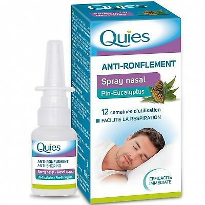 QUIES Anti-ronflement Spray Nasal Pin-eucalyptus - 15ml