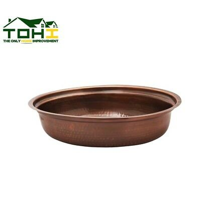 Chafing Dish Water Pan Antique Copper Finish Kitchen Tabletop Bar Serveware NEW