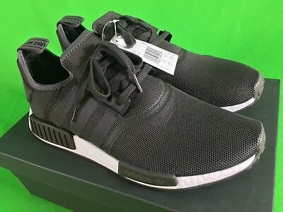 56f8b159c ADIDAS NMD R1 Core Black Sand S76847 Men s Brand New in Box Rare Deadstock  -  134.50