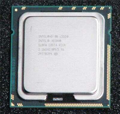 Intel Xeon L5520 2.26GHz / 8M / 5.86 SLBFA Processor FCLGA1366