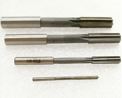 Select Size 1.0mm to 6.9mm Machine HSS Straight Shank Milling Reamer [DORL_A]