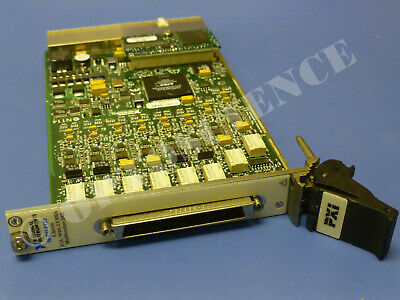 National Instruments PXI-6133 NI DAQ Card 8ch 14bit Simultaneous Analog Input