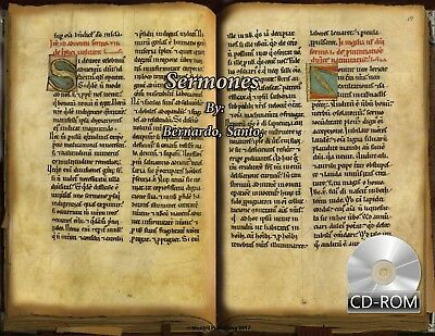 Sermones By Bernardo, Santo,abad de Claraval 1200 AD Manuscripts digitized