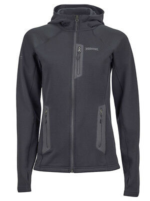 Marmot Women's Stretch Fleece Hoody-BLK XS