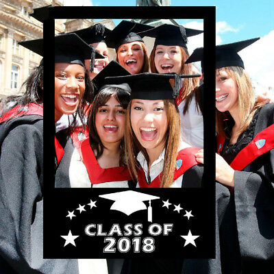 Diy Class Of 2018 Chalkboard Selfie Frame Photo Booth Prop