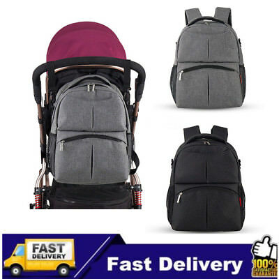 AU Travel Multifunctional Baby Diaper Backpack Mummy Nappy Changing Travel Bags