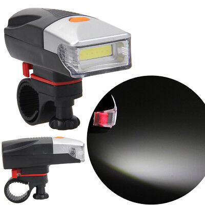 Bike Bicycle Quick Release 6 LED Head Light / 5 LED Rear Safety Flashlight Lamp