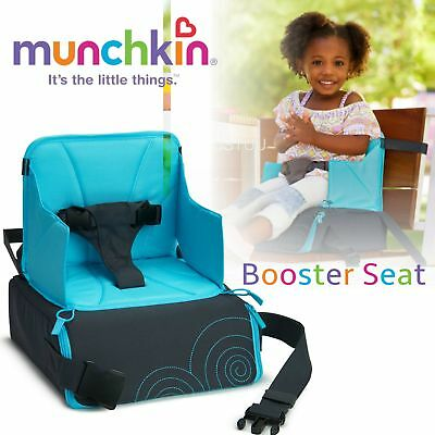 Munchkin Booster Seat│Stylish Baby Sitting│Height Adjustable│Durable & Stable