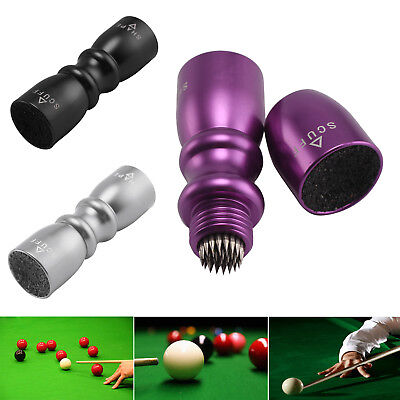 Bowtie Snooker Pool Cue Tip Shaper 3 in 1 Stick Tool Scuffer Aerator Equipments