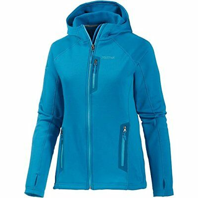 Marmot Women's Stretch Fleece Hoody-Dark Atomic M