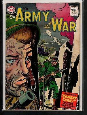 Our Army at War #69 GD/VG 3.0 DC Silver Age War 1958 Complete!!!