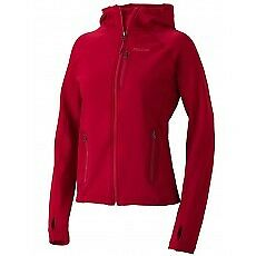Marmot Women's Stretch Fleece Hoody-Raspberry M
