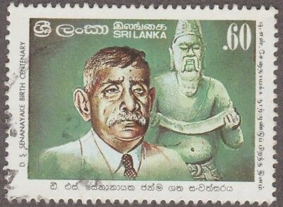 Sri Lanka D S Senanayake Birth Centenary  0.60 Issued 1984 Used Stamp