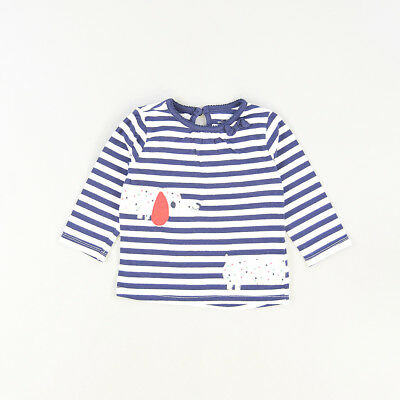 Camiseta color Azul marca Early days 12 Meses  502820
