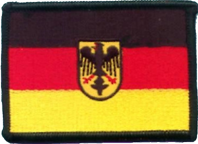 Germany Armed Forces Official Uniform Flag Embroidered Patch