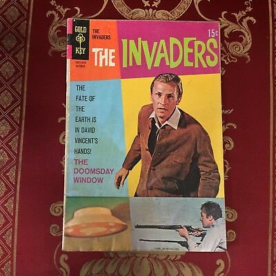 The Invaders #4 October 1968 Bagged Gold Key Comic