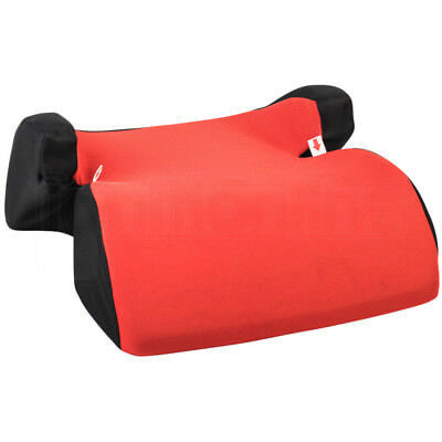 Red Polystyrene Car Booster Seat Chair Kids Childs 3-12yr Group 2/3 Side Support
