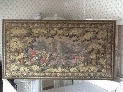 French Antique Very Large Tapestry