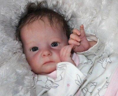 Reborn Baby Doll Tink by Bonnie Brown  neu sweet Belly Plate limitiert Puppe