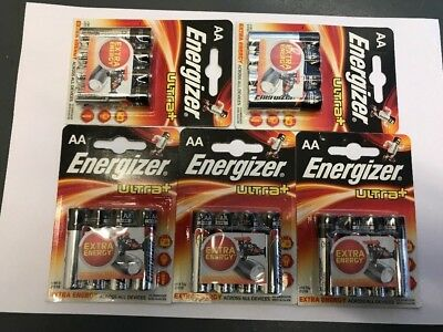 Energizer Batteries Aa Ultra + X 20 Batteries